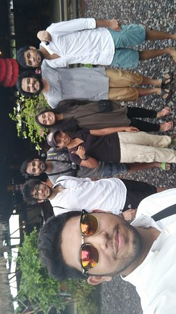 Paintball Bali Pertiwi: With the instructor Lily