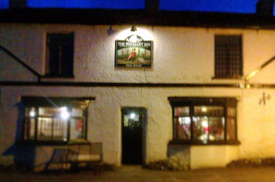 Leyburn, UK: The Pheasant Inn, Harmby (early Summer evening)