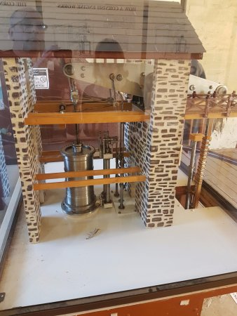 Burra, Australien: Model of the original workings of the engine house