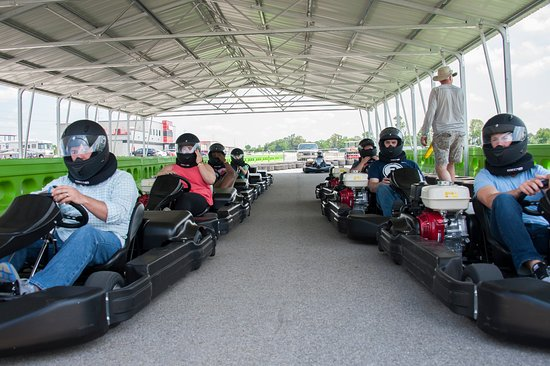 Bowling Green, KY: Race against your friends on the go-kart track.