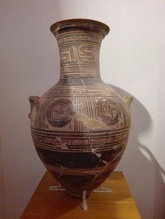 Kastro: έκθεμα του αρχαιολογικού μουσείου