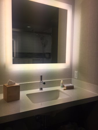 Bathroom Mirror Has Lights Around It Picture Of EVEN Hotel Times - Lights around bathroom mirror