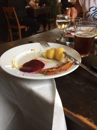 Stege, Dinamarca: Stegt flæsk med kartofler og persillesovsen