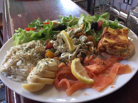 Seyssinet-Pariset, França: Assiette de la mer 2