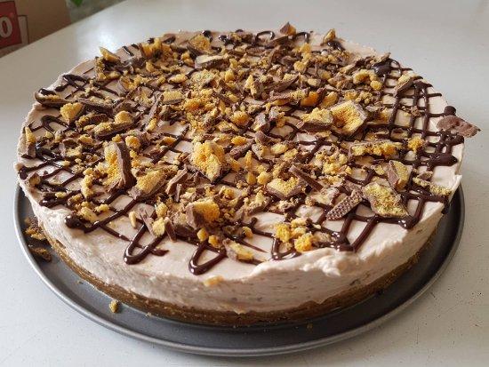 Kinlough, Irlanda: Crunchie cheesecake
