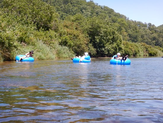 Todd, NC: Three sisters floating dow the New River