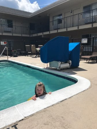 Richmond Hill, GA: We are proud to have an ADA compliant pool with lift