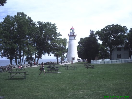 Marblehead, OH: the lighthouse and keepers quarters