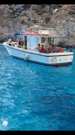 Pollonia, Greece: Milos fishing experience