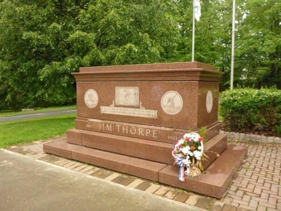 Grave of Jim Thorpe