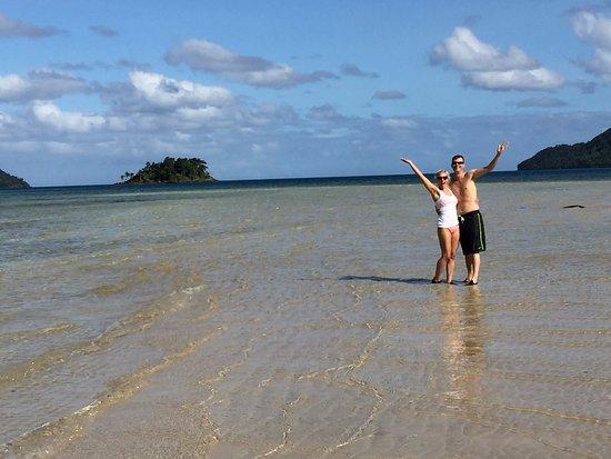 Qamea Island, فيجي: Circle Qamea beach
