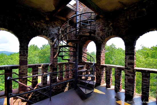 Greenfield, MA: The infamous spiral staircase