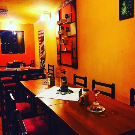 Chivay, เปรู: Aromas Caffee