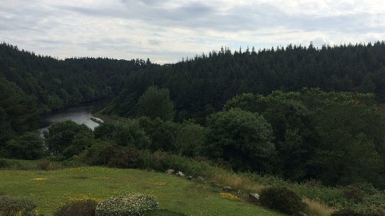 St Mullins, Irlanda: View from room at Mulvarra House