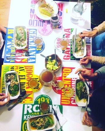5Bogota: Our dinner