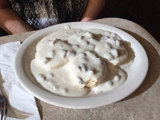 Rugby, ND: Biscuits and Gravy