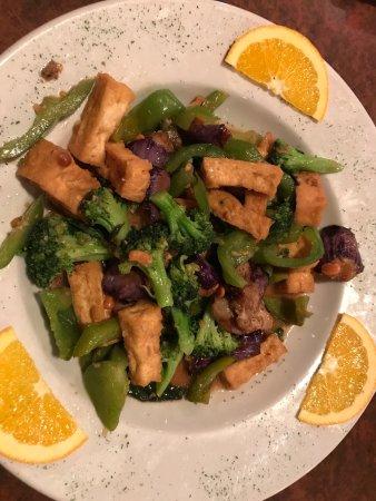 Lime Leaf Thai Fusion : Eggplant with tofu
