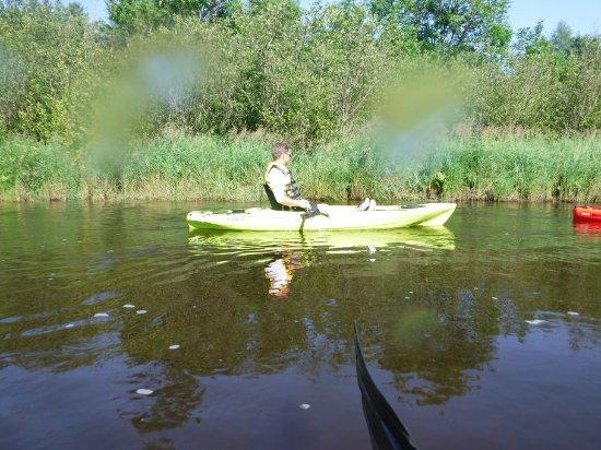 Minocqua, WI: Peaceful kayaking trip with great wildlife sightings!