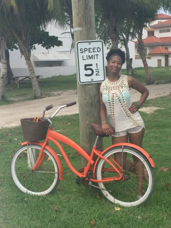Las Terrazas Resort: Beach Bikes are one of the free amenities we enjoyed