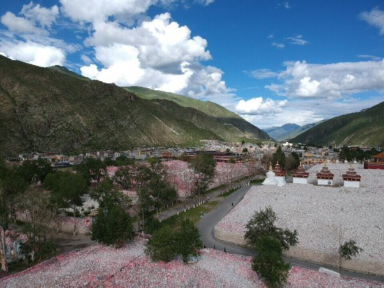 Yushu County, China: Mani Stones