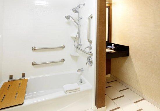 Ист-Рутерфорд, Нью-Джерси: Accessible Guest Bathroom