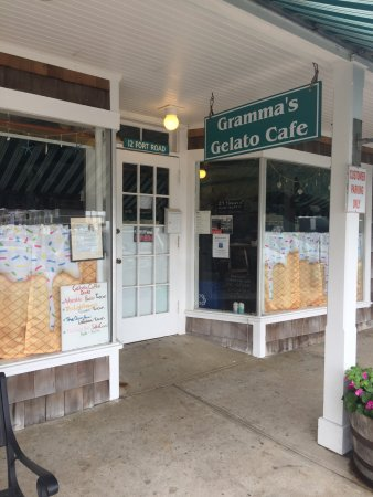 Watch Hill, RI: Gramma's Gelato Cafe LLC