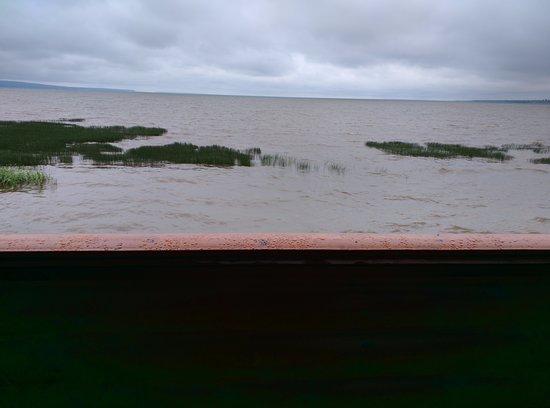 Ashland, WI: Looking at lake from balcony.