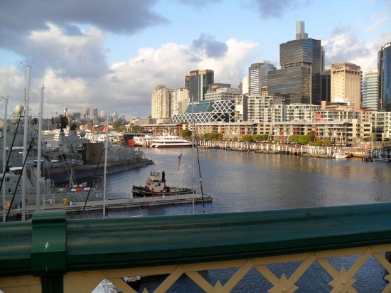 Holiday Inn Darling Harbour: National Maritime Museum & King Street Wharf, Darling Harbour