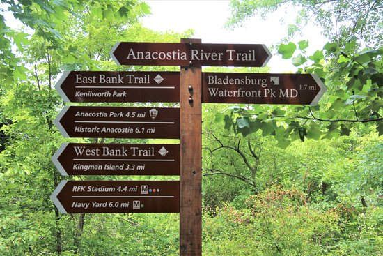 Kenilworth Aquatic Gardens trail - Picture of Kenilworth Park and ...