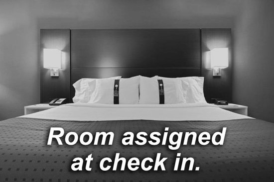 Oshawa, Canada: Guest Room Assigned at Check in