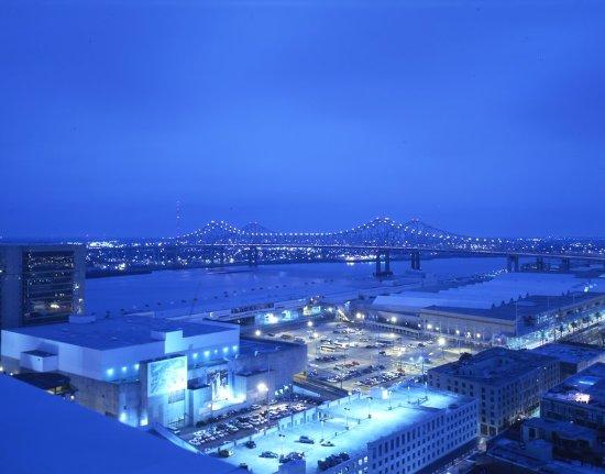 Loews New Orleans Hotel: Aerial View