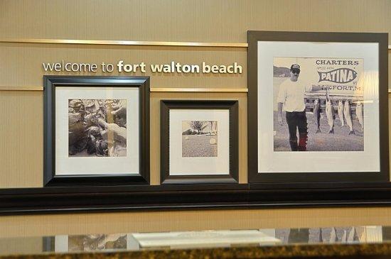 Hampton Inn Ft. Walton Beach: Hotel Lobby