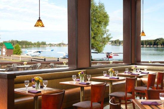 flying machine restaurant anchorage ak
