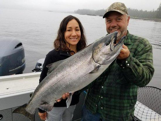 Charter trip July 2017 Masset BC