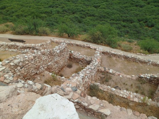 Clarkdale, AZ: one of many sections of the ruins
