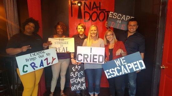 The Final Door Escape Room Columbia 20170725_153327_large.jpg  sc 1 st  TripAdvisor & The Final Door Escape Room - Picture of The Final Door Escape Room ...