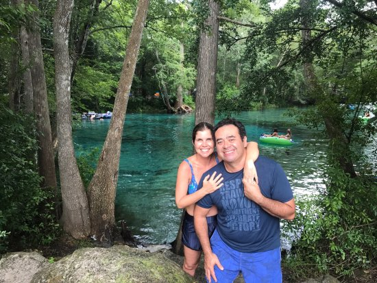 Ginnie Springs: One of the most beautiful place that I visited in my life. The water is cold, even in the hot su