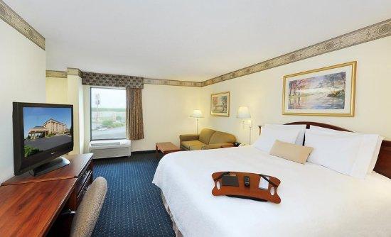 Hampton Inn Gaffney: King Size Bed