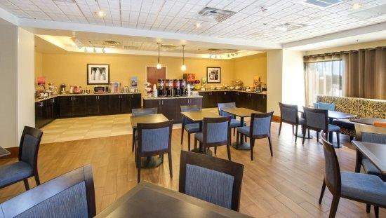 Gaffney, SC: Breakfast Dining Area