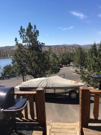 Prineville, OR: Cabin #3 view
