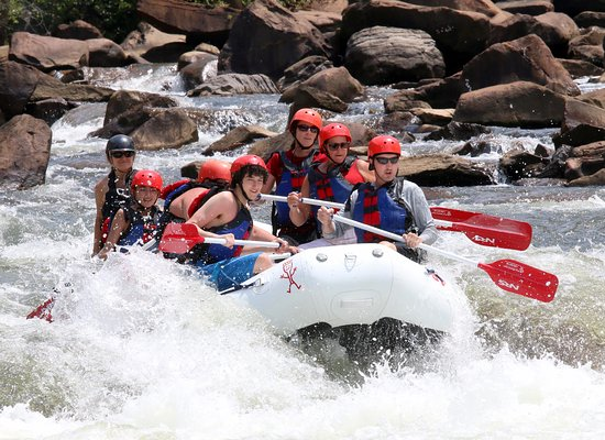 Copperhill, TN: SO MUCH FUN!!! GREAT RIVER, GREAT GUIDE, GREAT RAFTING COMPANY!!