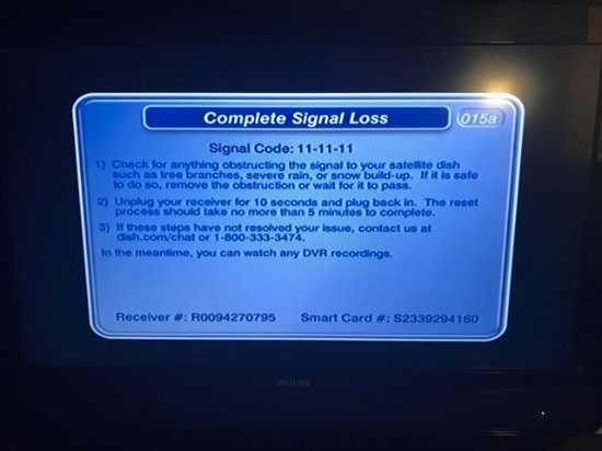 Waukesha, WI: TV failure