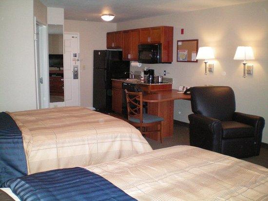 Abilene, Τέξας: Spacious Suite with 2 Queen Beds Non-Smoking