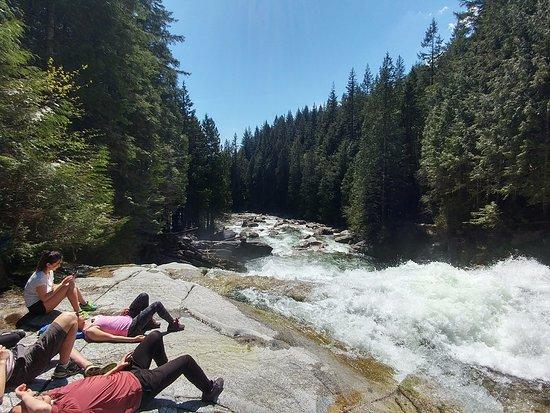 Maple Ridge, Canada: Hikers relaxing