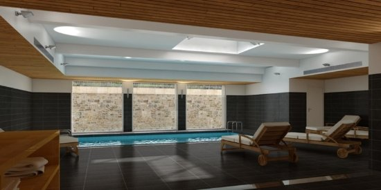 Swimming pool picture of appart hotel odalys confluence for Appart hotel odalys lyon