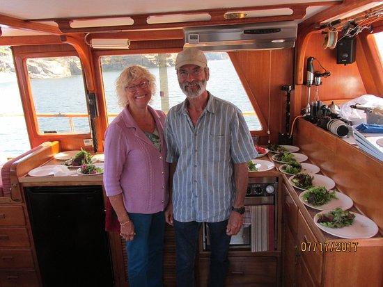 Lund, Kanada: Our wonderful hosts, Joanie & Ted