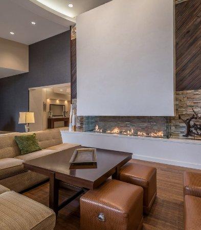 Provo, UT: Lobby Fireplace