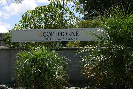Omapere, Nueva Zelanda: Exterior Entrance