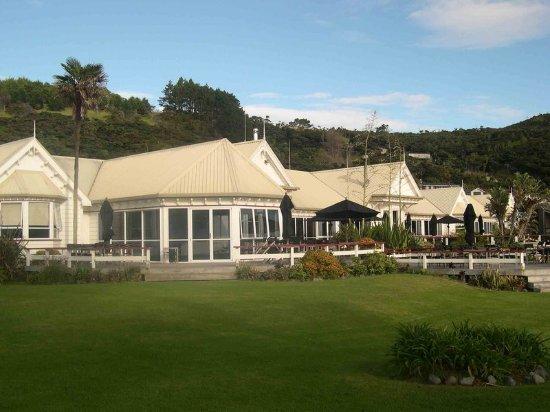 Omapere, Nova Zelândia: Exterior Garden