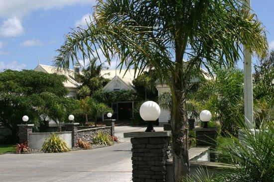 Omapere, Nueva Zelanda: Main Entrance